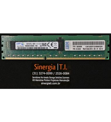 M393B1G70QH0-YK0 Memória RAM IBM 8GB RDIMM PC3L-12800R DDR3 1600MHz 1Rx4  pronta entrega