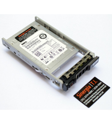 "PX02SSF040 Model Dell 400GB SSD SAS 12Gbps 512n 2.5"" MLC WI para Servidores PowerEdge R630"