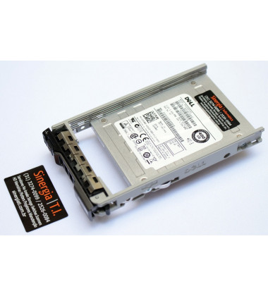 "02H9WV Dell 400GB SSD SAS 12Gbps 512n 2.5"" MLC WI para Servidores PowerEdge R630"