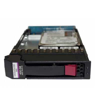 "SPARE: 787655-001 HD HP 450GB SAS 12Gb/s Enterprise 15K LFF Hot-Plug 3,5"" Storage P2000 G3 e MSA front"