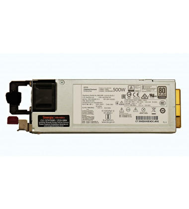 DPS-500AB-31 A Fonte HPE 500W Servidores ProLiant ML30 ML350 DL360 DL380 Gen10 pronta entrega
