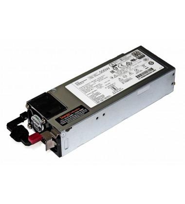 P/N: 865399-101 | Fonte HPE 500W Servidores ProLiant ML30 ML350 DL360 DL380 Gen10