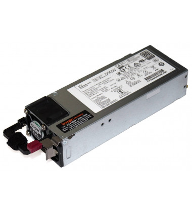 Regularory Model No.: HSTNS-PD40-1 | Fonte HPE 500W Servidores ProLiant ML30 ML350 DL360 DL380 Gen10 HP
