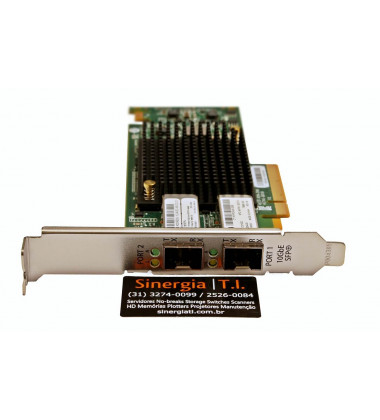 792834-001 HPE Adaptador Ethernet 10Gb 2 portas 557SFP+ para Servidores em Rack ProLiant Gen9 pronta entrega