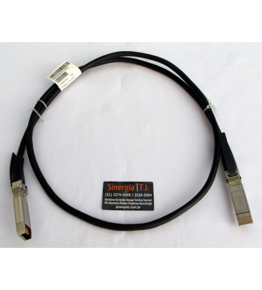 JD096C HPE X240 10G SFP+ SFP+ 1.2m DAC Campus Cable - Cabo DAC total