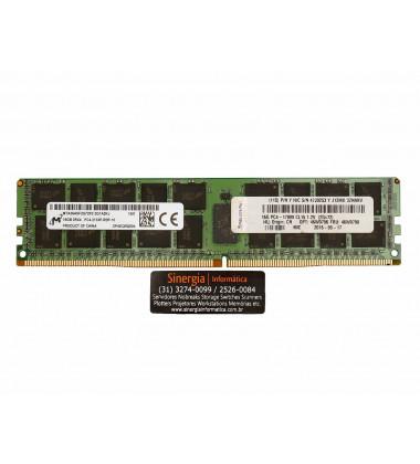 16G PC4-17000 CL15 1.2V (2GX72) | Memória Lenovo 16GB DDR4 2133MHz ECC Registrada Servidor Lenovo System X3550 x3650 M5 x3850 x3950 X6 rótulo