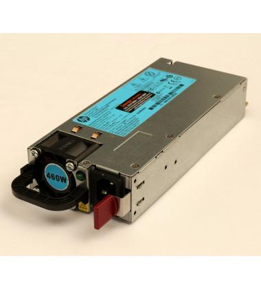 511777-001 Fonte Redundante Para Servidores HPE ProLiant ML350p DL360e DL360p DL380e DL380p DL385p 460W latera