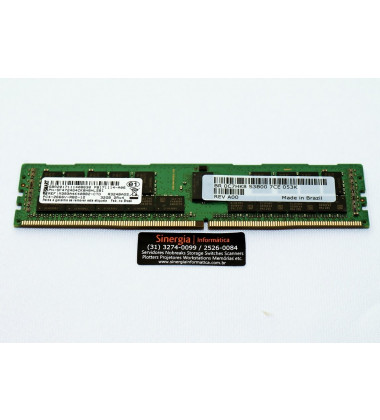 0C7HK8 Memória Dell 32GB DDR4 PC4-2666V ECC RDIMM 2Rx4 para Servidor Dell T430, T440, T440E, T440H, R540, R540, R640, T640, R730, R830, R930, R740, R740E, R940 capa