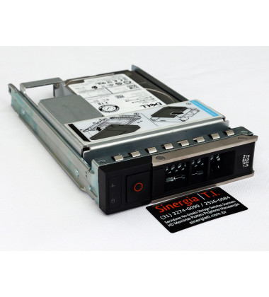 400-ATJX Dell 2TB SAS 12Gbps HD para Servidor 7200 RPM LFF (3.5in) HDD 1HXF5 gaveta Servidor PowerEdge R740 R740xd2 R440 R540 R640 R340 R240