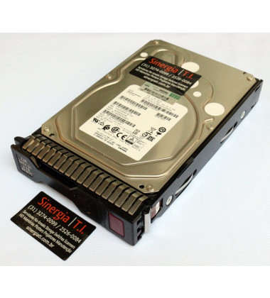 "872771 HPE HD 2TB SATA 7.2K DS 3,5"" para Servidor ProLiant DL360 DL380 ML350 Gen10"