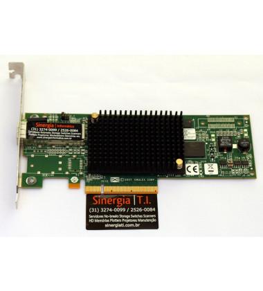 697889-001 Placa de rede Fibre Channel HPE PCI-E  81E 8GB HBA Single Port pronta entrega