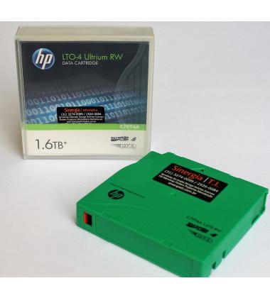 foto case e fita LTO-4 HP frente