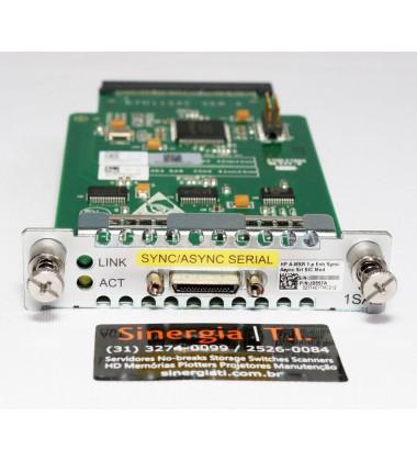 P/N:JD557A Módulo para Router HPE A-MSR 1-P EMH Sync/Async SRL SIC MOD Pronta entrega