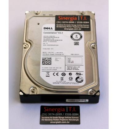 """0JMN63 HD Dell 3TB SATA 7.2K DS 3,5"""" para Servidor pronta entrega"""