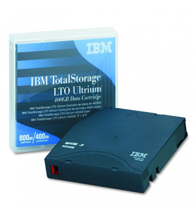 foto fita de dados LTO3 IBM 24R1922 frente