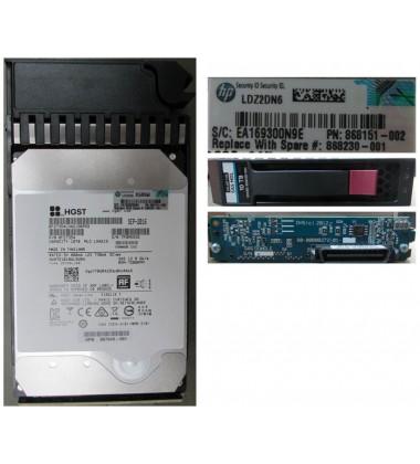 867943-001 | HDD HPE MSA 6TB 12G SAS 7.2K LFF (3.5IN) MIDLINE HARD DRIVE