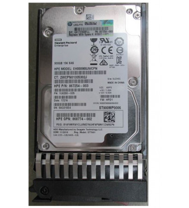868774-002 | HD HPE 900GB SAS 12Gb/s DP 15K SFF Hot-Plug 2,5""