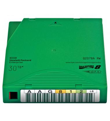 Q2078A Fita mídia de dados HPE Ultrium LTO-8 12TB/30TB