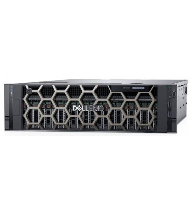 Servidor Dell R940 PowerEdge EMC Xeon foto frontal com bezel