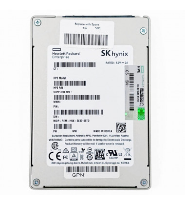 875503-B21 | HPE 240GB SATA 6G Read Intensive SFF (2.5in) SC Digitally Signed Firmware SSD