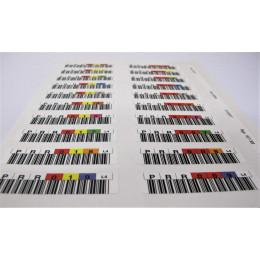 Kit de Etiquetas de Código de Barras HP Q2009A para Fitas LTO-4 Ultrium
