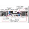 Foto traseira gabinete SFF e LFF Lenovo ThinkSystem DS4200 Storage Array FC/iSCSI PN: 4617A11