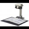 SV600 Scanner Fujitsu A3 planetário foto com o livro