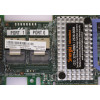 Foto close da placa controladora 81Y4481 Serveraid M5110 SAS/SATA Controller for System x com detalhes do FRU: 00AE807