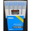 Fita de Dados LTO-4 Ultrium 4 Data Cartridge 800GB/1.6TB Dell Código do Fabricante : XW259 | Código Dell : 341-4641 foto frontal do pack 5 mídias