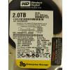 WD2003FYYS HD Enterprise Western Digital 2TB SATA 64MB Cache 7.2K RPM foto etiqueta