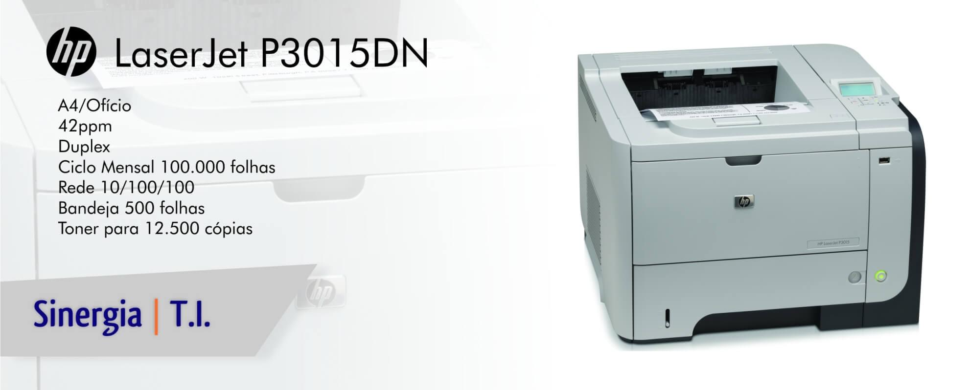 Impressora HP P3015DN