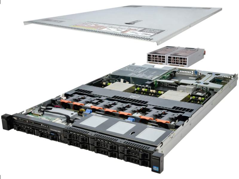 Servidor Dell PowerEdge R620 32GB Intel Xeon E5-2609 2.40 GHz pronta entrega