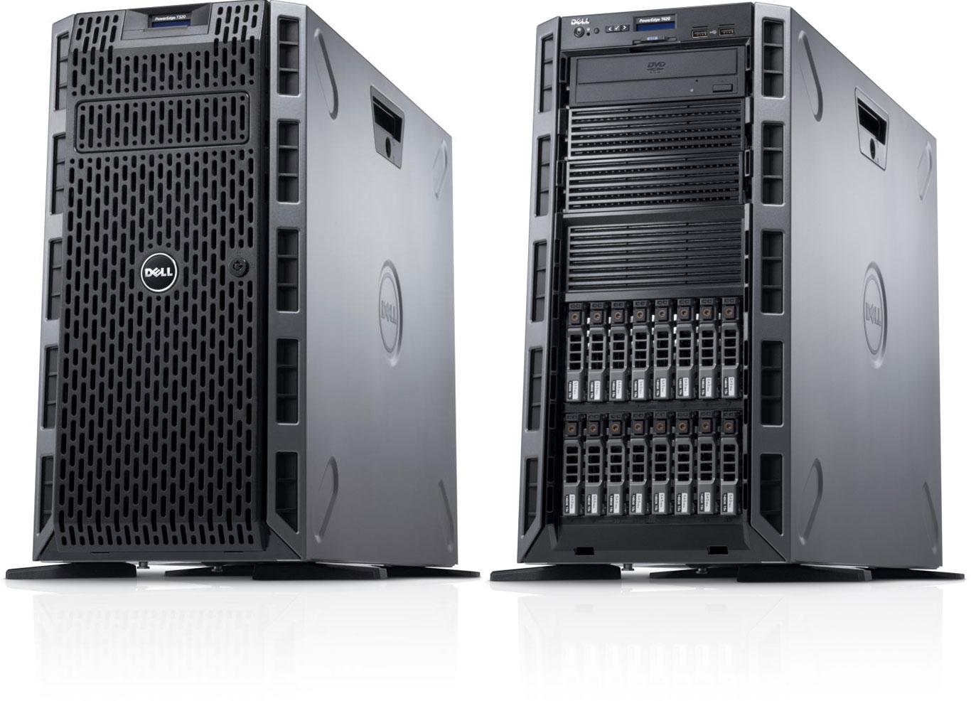 Servidor Dell T320 | Intel® Xeon® 2,2 GHz 8GB PowerEdge Torre (5U) Fonte 350W pronta entrega