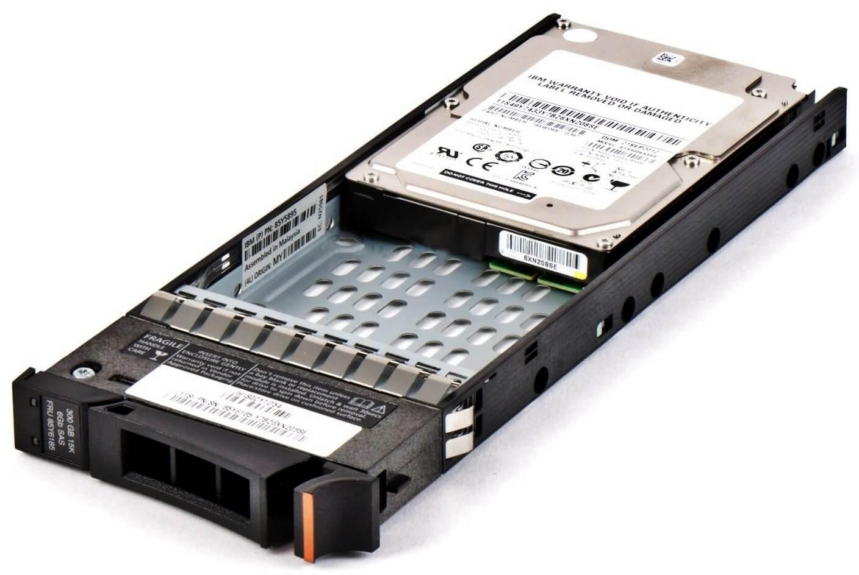 """85Y6185 HDD IBM 300GB SAS 15K 2.5"""" para Storage V7000 G1 perfil"""