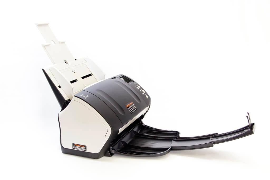fi-7160 Scanner Fujitsu foto lateral