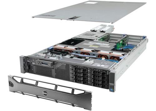 Servidor Dell PowerEdge R710 Intel Xeon 1 x E5-2660 (8-Cores / 16-Threads) 16GB RAM 2 x 300GB SAS 10K pronta entrega
