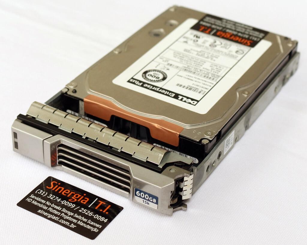 P/N: 0B24550 HD Dell 600GB SAS 6 Gbps 15K RPM LFF para Storage EqualLogic PS4100 PS4110 PS6100 PS6110 PS4100XV PS4110XV PS6010 PS6010XV PS6110XV pronta entrega