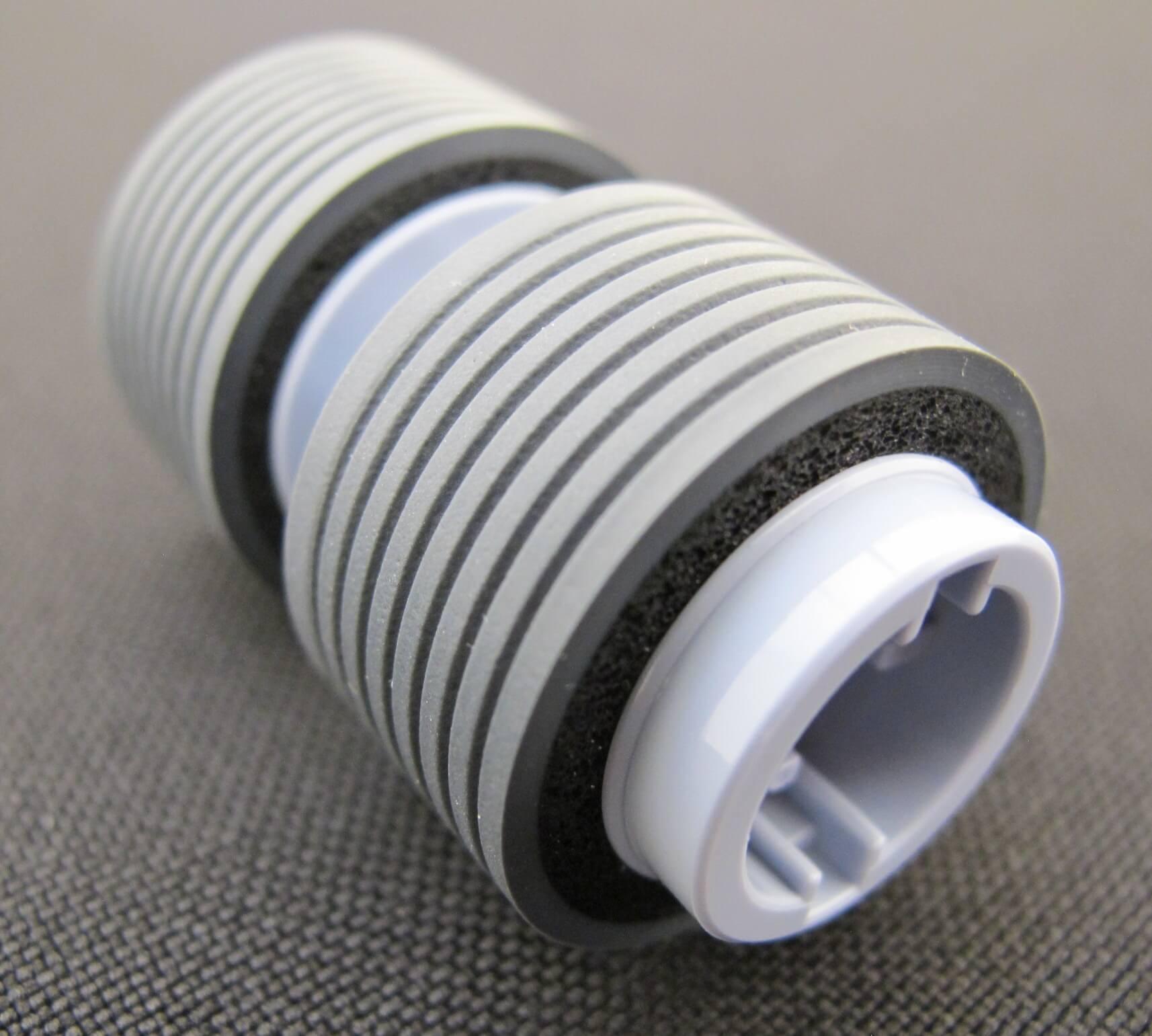 Foto close perfil Brake Roller PA03740-K010 para Scanners Fujitsu fi-7600 fi-7700 e fi-7700S