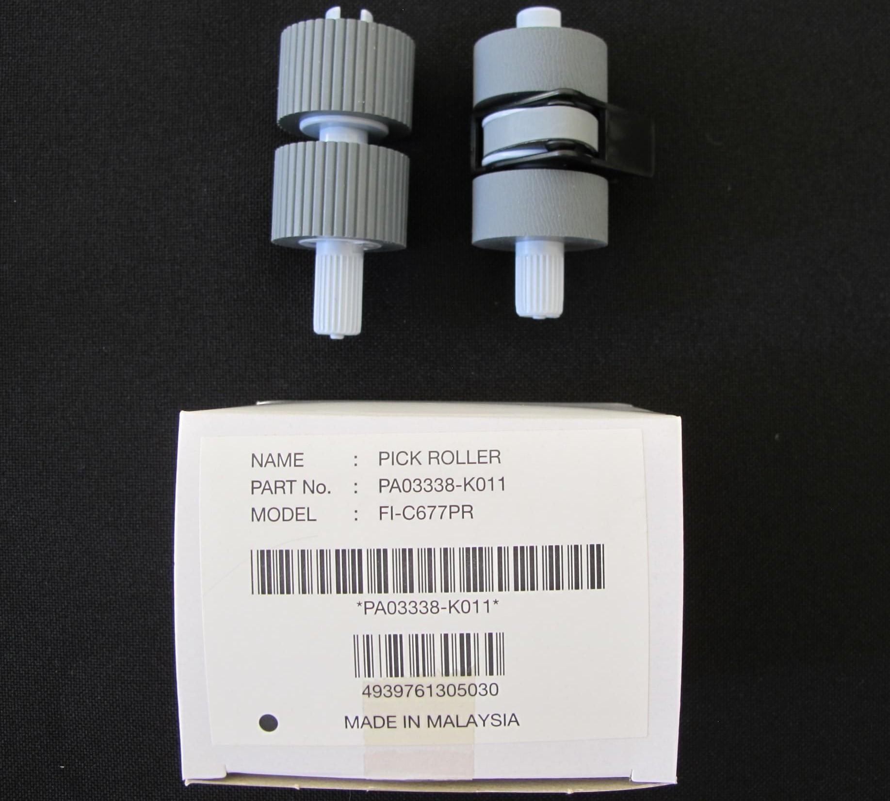 kit manutenção scanner Fujitsu fi-6670 e fi6770 pick roller PN: PA03576-K010