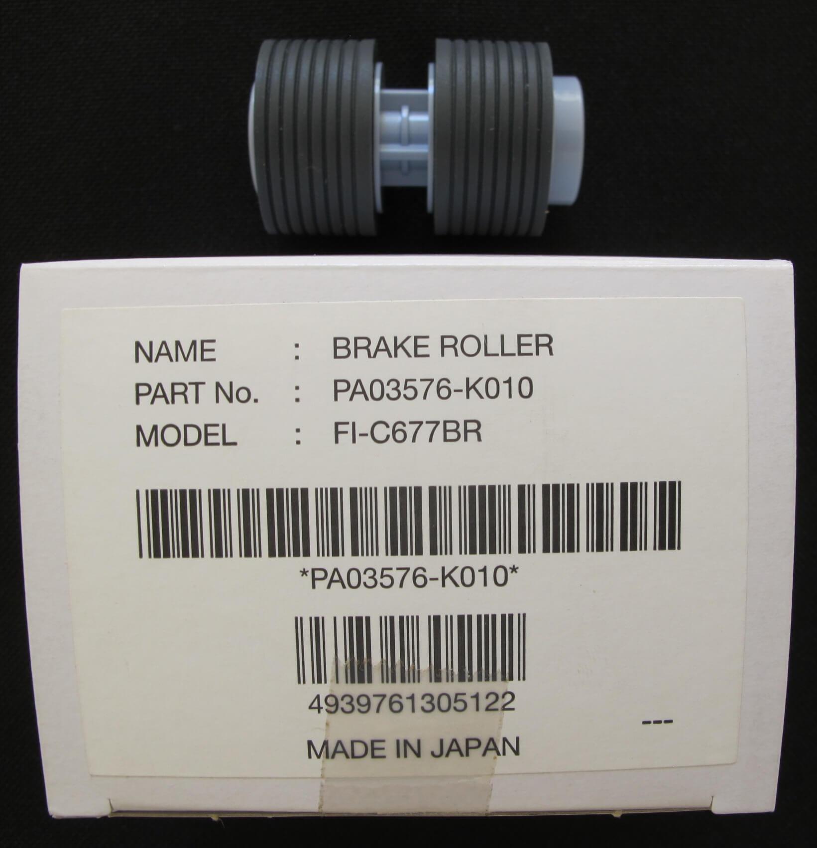 kit manutenção scanner Fujitsu fi-6670 e fi6770 brake roller PN: PA03576-K010 com caixa
