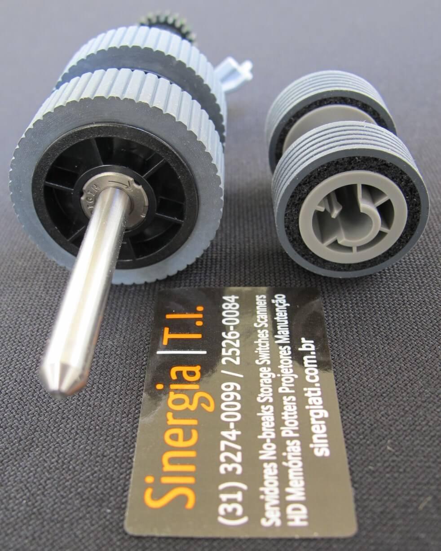 Roller Set para Scanner Fujitsu iX500 PA03656-0001 foto dos consumíveis close lateral