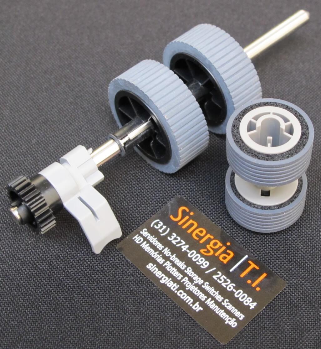 Roller Set para Scanner Fujitsu iX500 PA03656-0001 foto dos consumíveis close