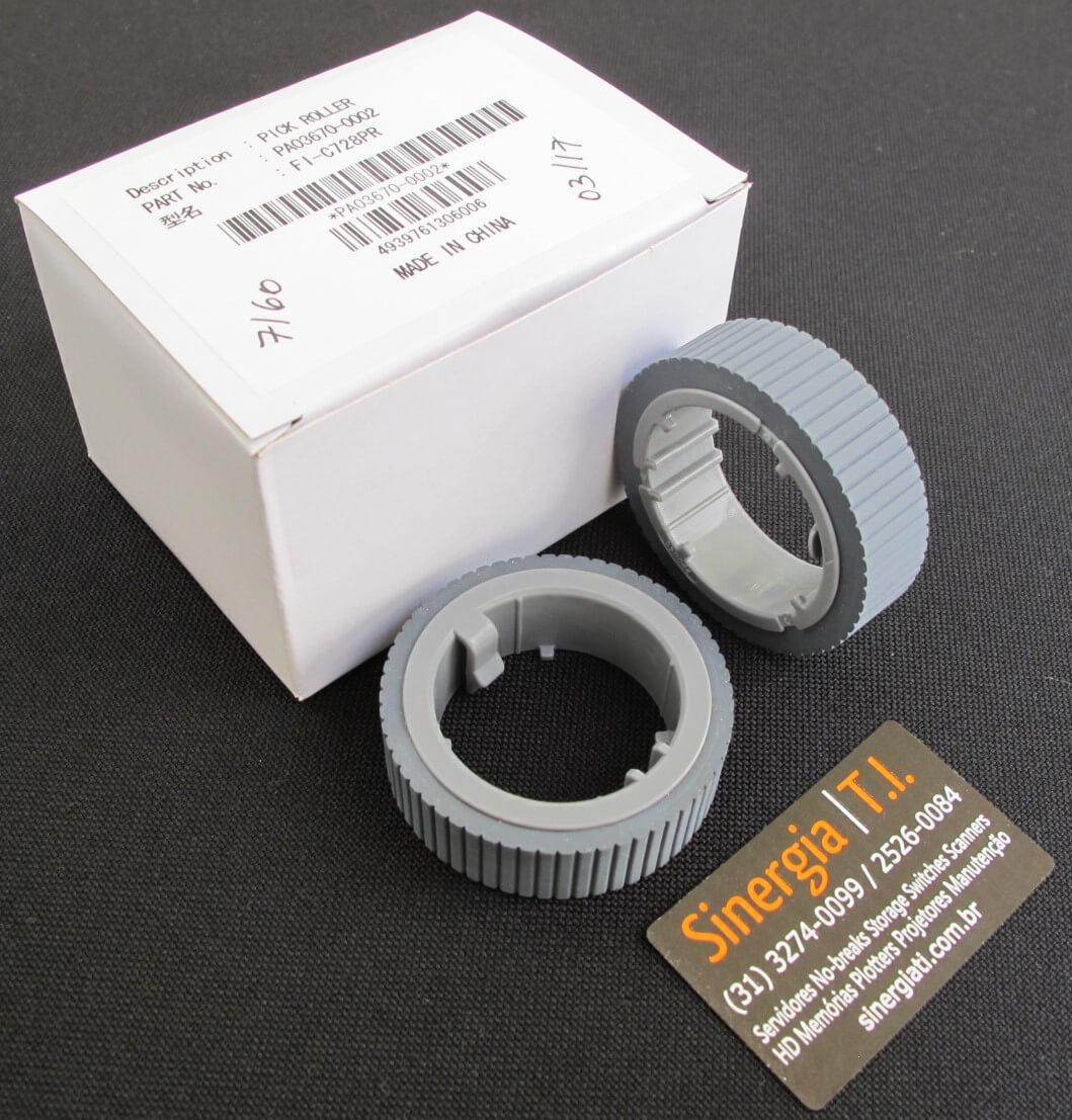 Pick Roller Original Fujtisu - Part Number: PA03670-0002 foto com a caixa