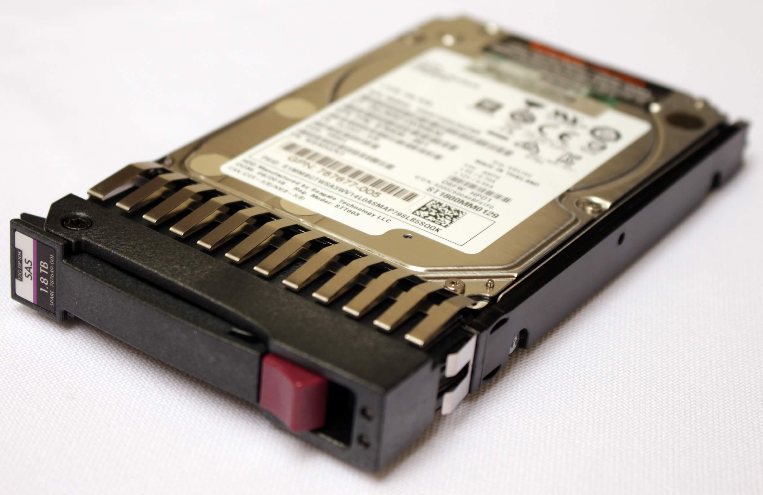"876939-001 HD HPE 1.8TB SAS 12Gb/s Enterprise 10K SFF Hot-Plug 2,5"" perfil"