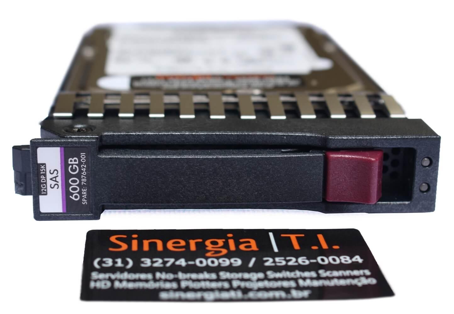 """J9F42A HD HPE 600GB SAS 12Gb/s DP 15K SFF Hot-Plug 2,5"""" Storage MSA 1040, 2040, 1050 e 2050 e StorageWorks P2000 G3 front"""