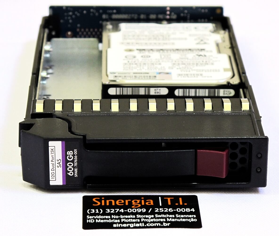 "J9V70A HD HP 600GB SAS 12Gb/s Enterprise 15K LFF Hot-Plug 3,5"" Storage P2000 G3 e MSA FRONT"