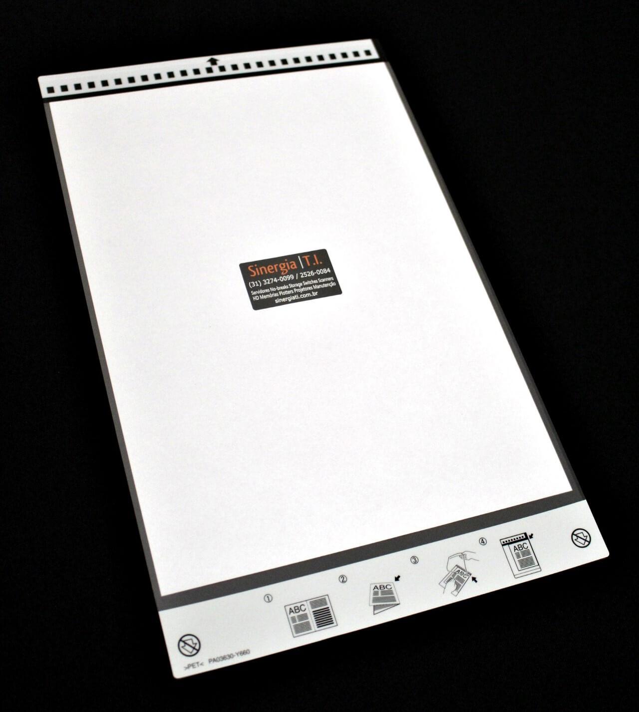 PA03360-0013 Folha de Transporte Carrier Sheet para Scanners Fujitsu A3 PA03630-F661