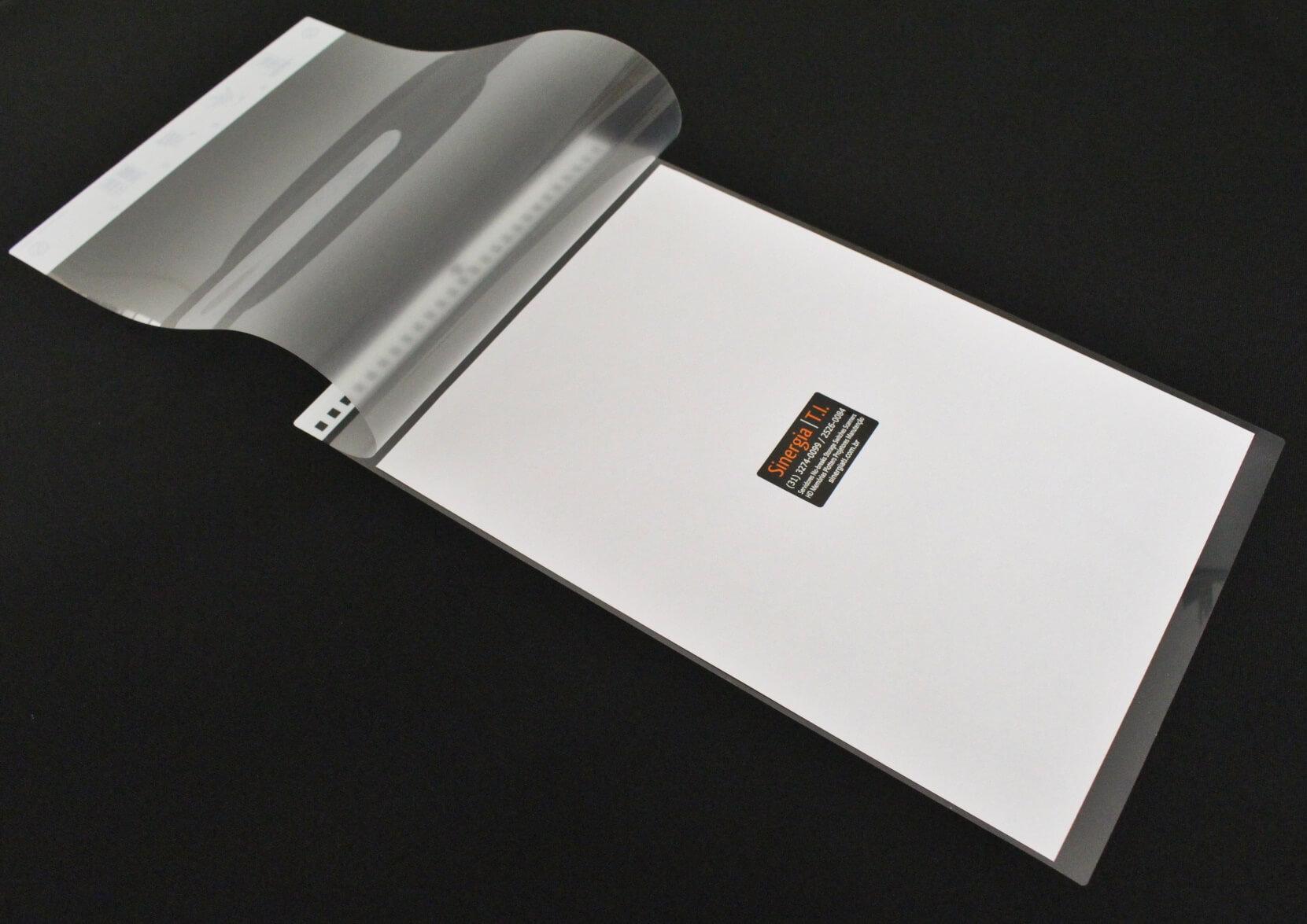PA03630-F661 Folha de Transporte Carrier Sheet para Scanners Fujitsu A3
