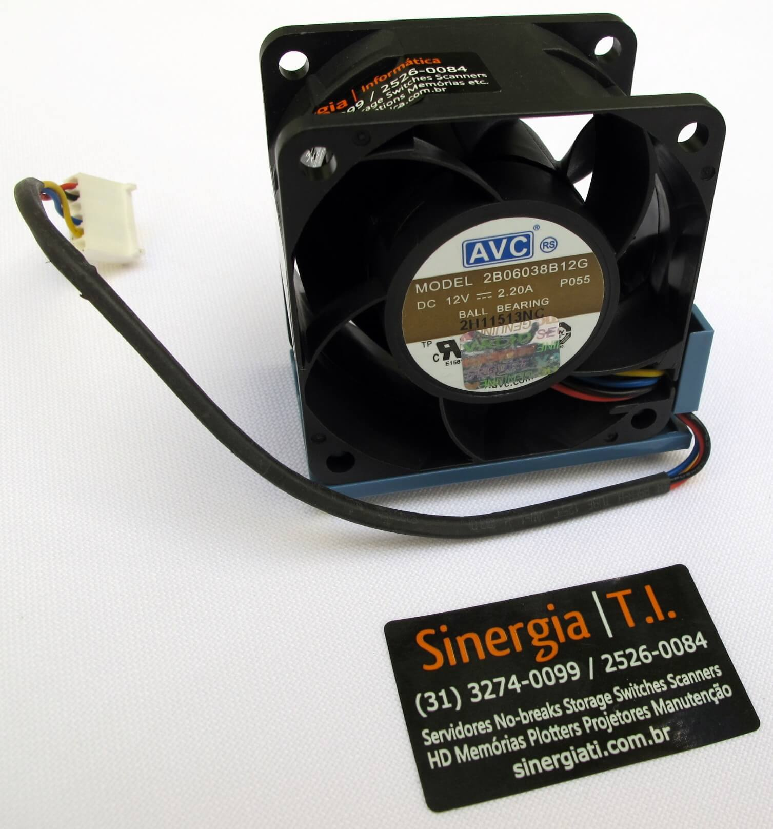 519199-001 Fan Cooler 2U Servidores HP DL160 e DL180 G6 e 530748-001