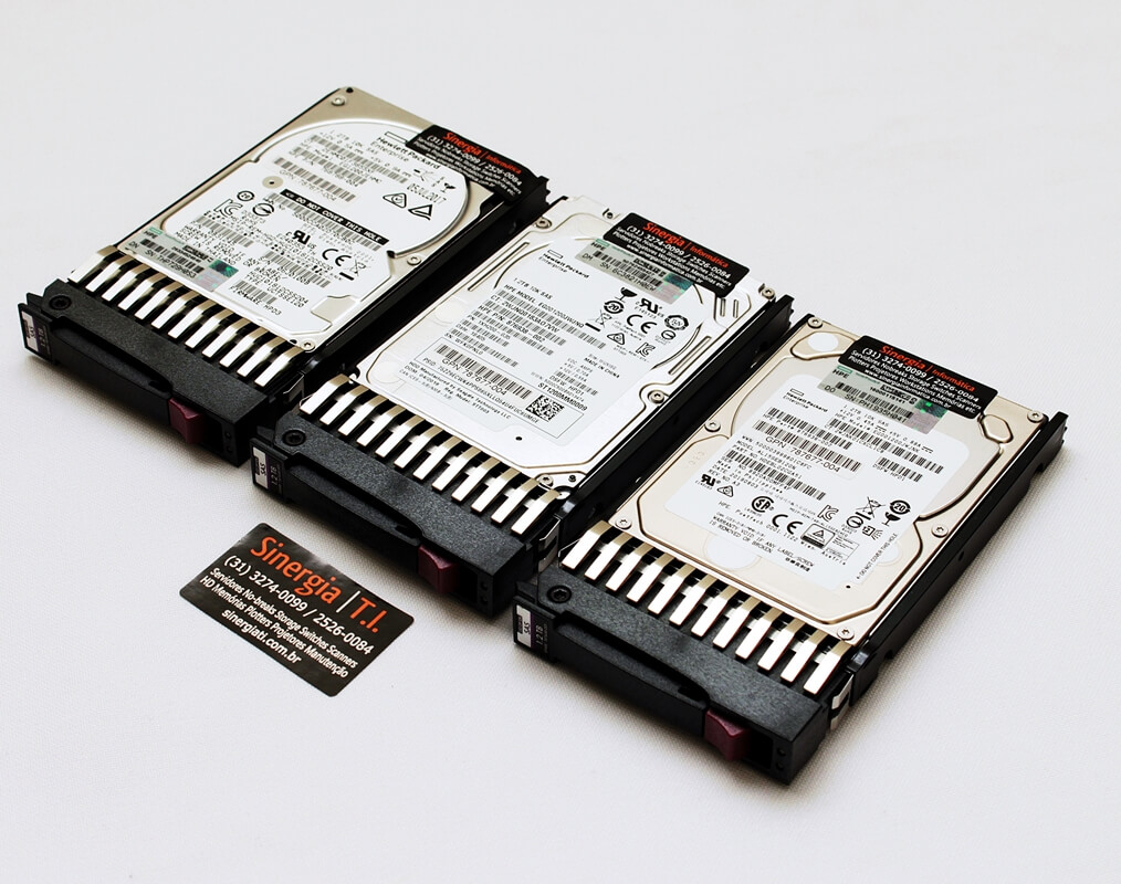 "EG1200JEMDA HD HP 1.2TB SAS 12Gb/s DP Enterprise 10K SFF Hot-Plug 2,5"" para Storage MSA 1040, 2040, 1050 e 2050 kit"